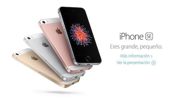 Apple presenta el iPhone SE, su