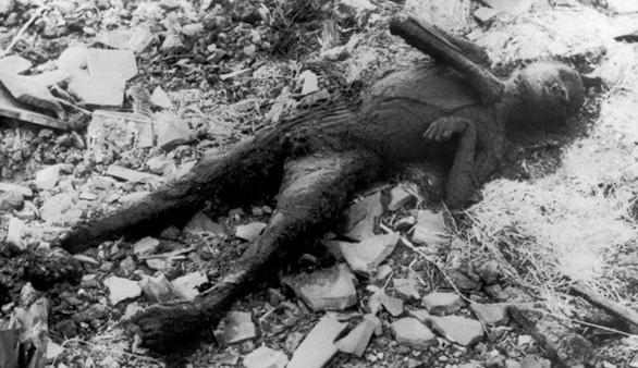 El niño carbonizado de Nagasaki tiene nombre: Shoji Tanisaki