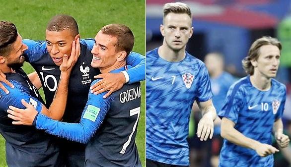 La juventud de Francia y la ilusión de Croacia se juegan el Mundial en Moscú