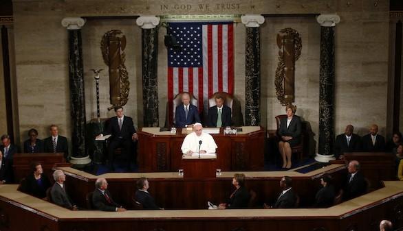 El Papa pide en el Congreso de EEUU la 'abolición mundial de la pena de muerte'