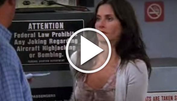 Vea la escena de un capítulo de 'Friends' que se eliminó tras el 11S