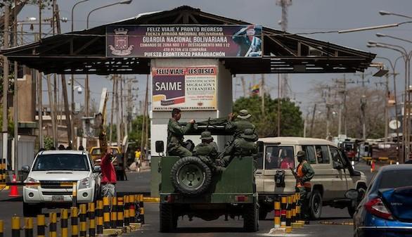Colombia denuncia una violación del espacio aéreo por cazas venezolanos