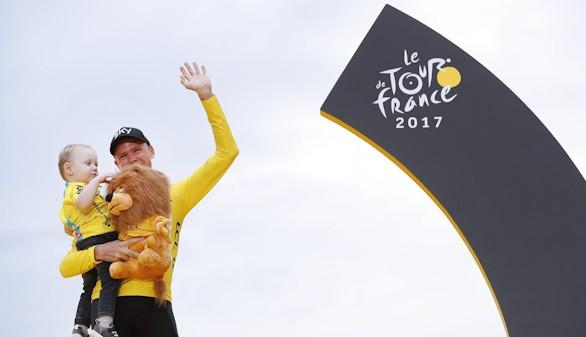 Chris Froome sella por cuarta vez su triunfo en el Tour de Francia