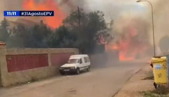Okupas queman casas de una urbanización de Madrid al ser expulsados   El  Imparcial