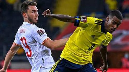 España tropieza frente a Suecia ante más de 3,2 millones de espectadores