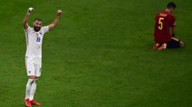 Francia venció a España en la polémica final de la Liga de Naciones.