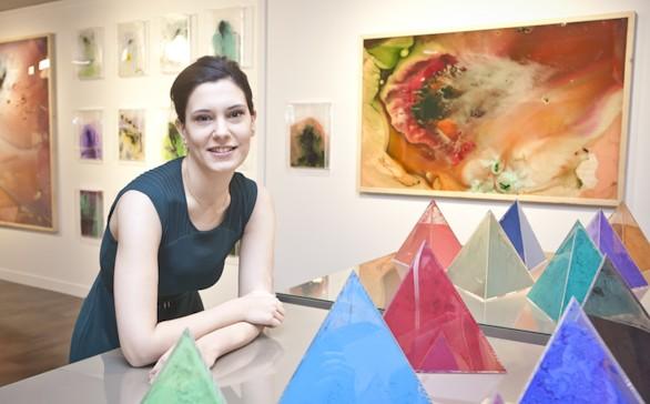 La artista Cristina Gamón. Foto: El Corte Inglés