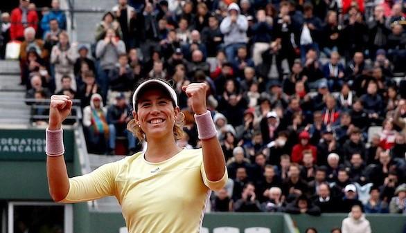 Muguruza, una finalista española en Roland Garros 16 años después
