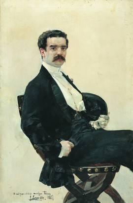 Retrato de Juan Antonio García del Castillo, adquirido por el Ministerio de Educación, Cultura y Deporte para la colección del Museo Sorolla.