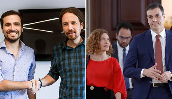 El PSOE y Podemos ya libran la guerra de las listas