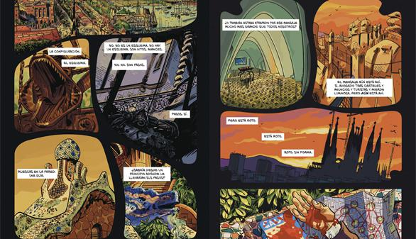 El fantasma de Gaudí, un cómic ambientado en la Barcelona modernista