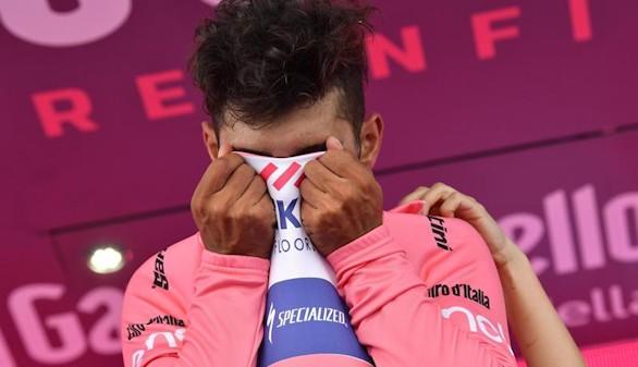 Giro de Italia. El colombiano Gaviria se lleva el triunfo y la maglia