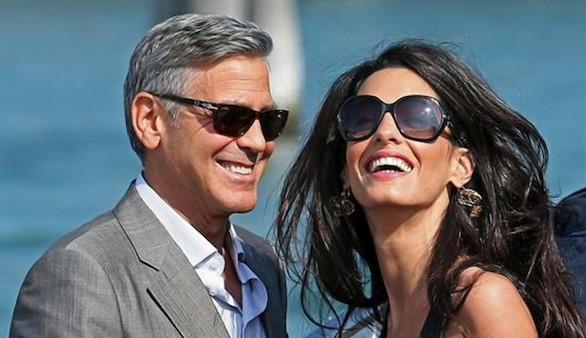 Se filtra que George Clooney y Amal Ramzi serán padres de gemelos