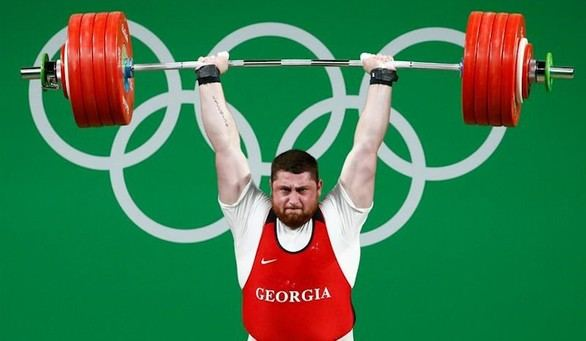 El georgianoTalakhadze, nuevocampeónolímpico en lacategoría de +105 kilos