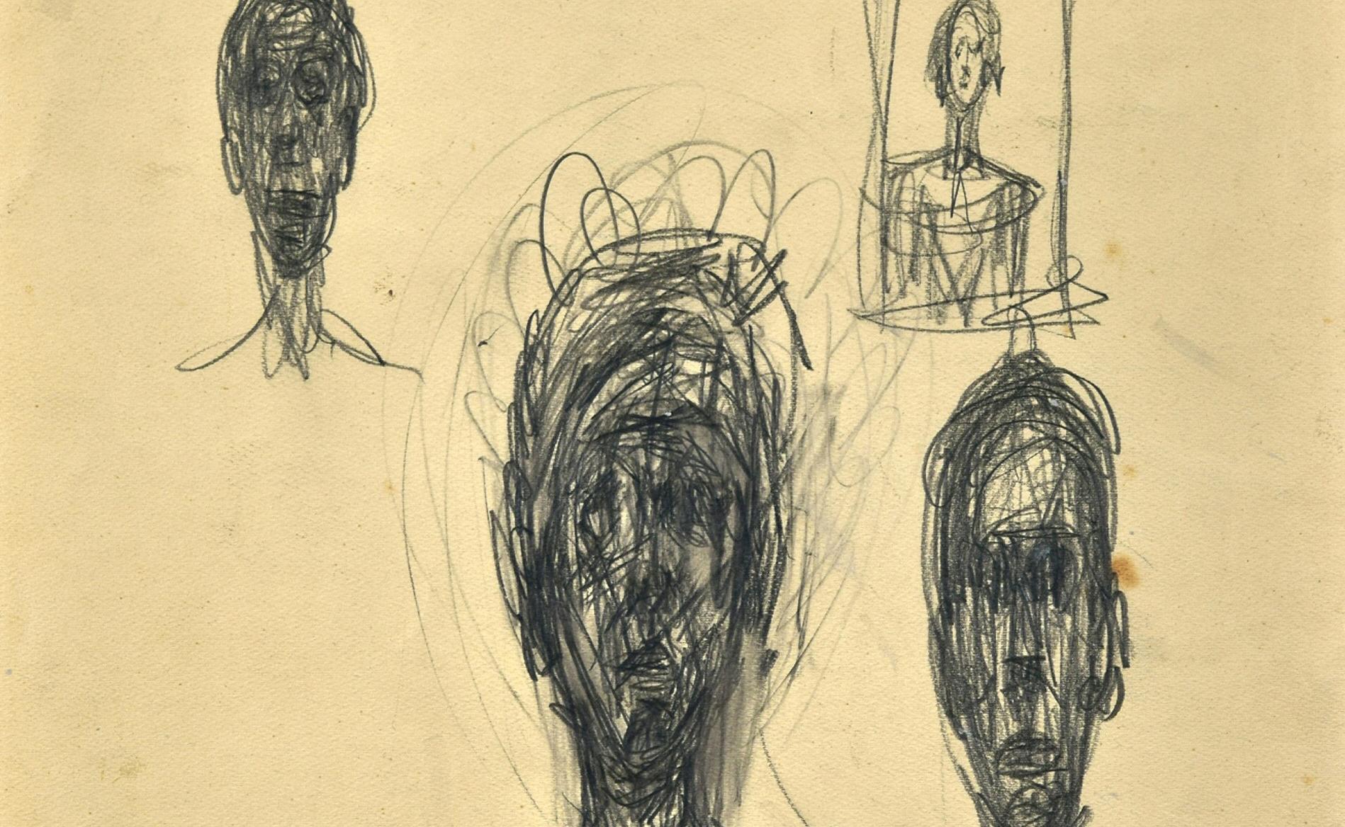 Hallados dibujos inéditos de Giacometti en una tienda de antigüedades de Londres