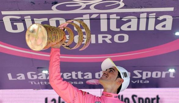 Alberto Contador conquista su segundo Giro de Italia