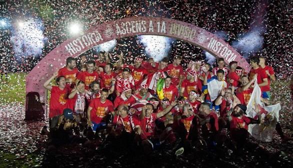 Liga 1/2/3. El Girona, nuevo equipo de Primera; Mallorca y Elche, a Segunda B