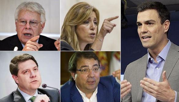El PSOE presiona a Sánchez para que no entierre el partido