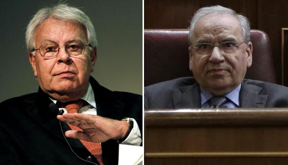 Felipe González y Alfonso Guerra opinan lo contrario que Pedro Sánchez