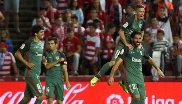Tercer triunfo seguido del Athletic ante un Granada que sigue sin ganar  1-2