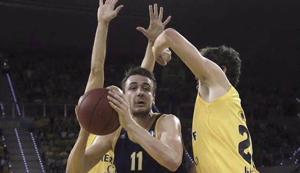 El Khimki toma clara ventaja en la final de la Eurocopa ante el Gran Canaria