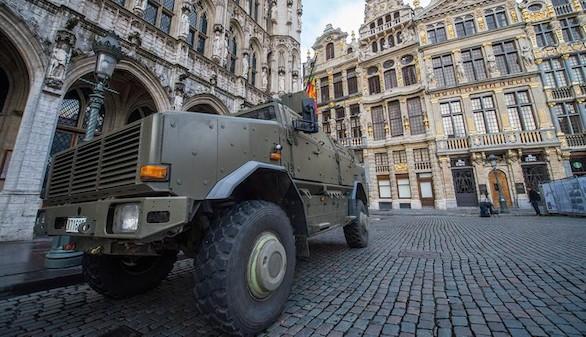Bruselas continúa en nivel máximo de alerta ante el riesgo de atentado
