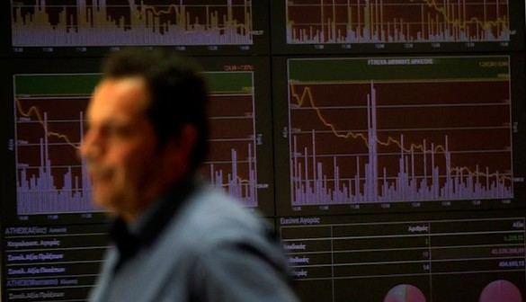 Batacazo de la Bolsa, que se deja un 4,4 por ciento con la prima en 155 puntos