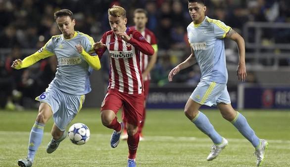 El Atlético no puede con el Astana | 0-0