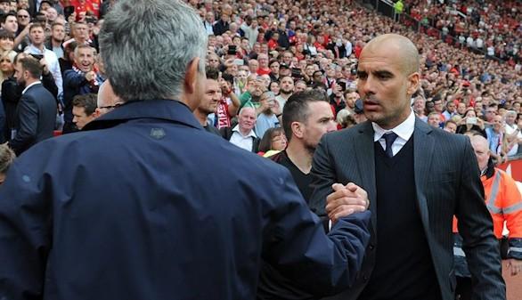 Guardiola se impone a Mourinho en el derbi de Manchester |1-2