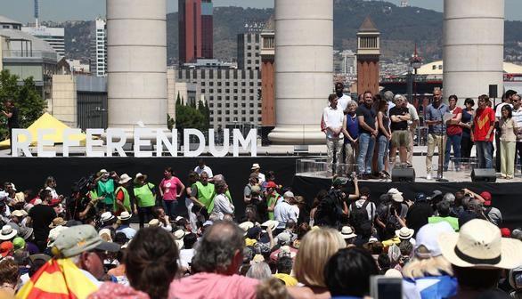 Guardiola, portavoz de los soberanistas, pide apoyo internacional