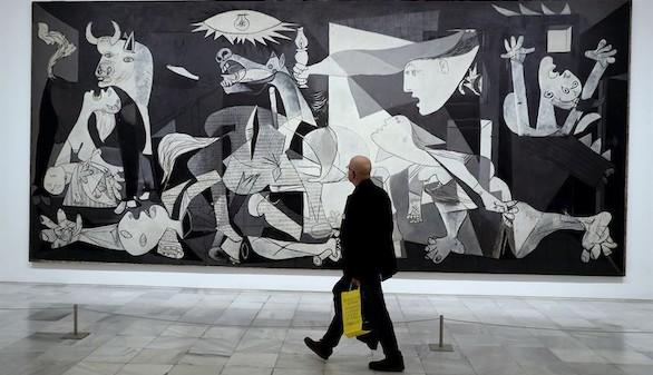 Inaugurada la gran exposición de Picasso en el 80 aniversario del Guernica
