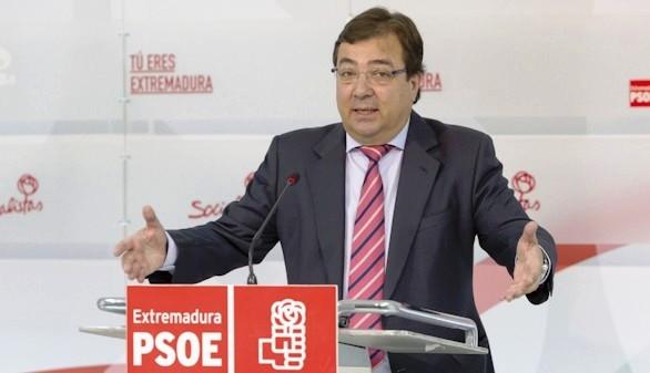 Guillermo Fernández Vara apuesta por la abstención del PSOE