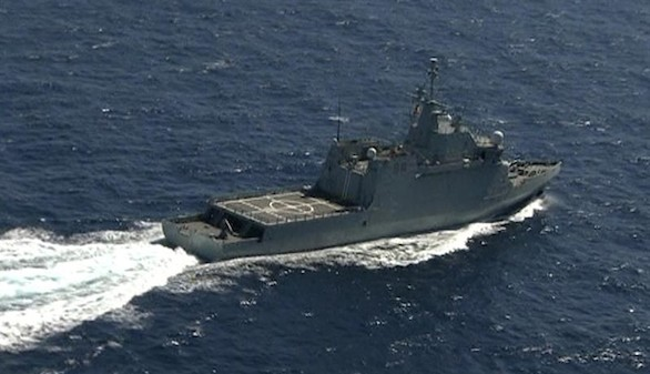 Encuentran la cabina del helicóptero del Ejército hundido en el Atlántico