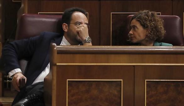 Los díscolos del PSOE se niegan a pagar la multa por votar