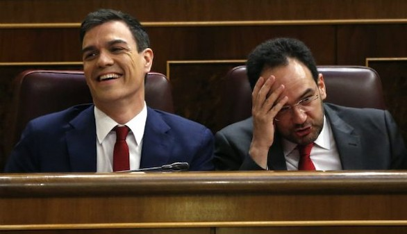 Hernando se arrepiente de su 'No es No' a Rajoy