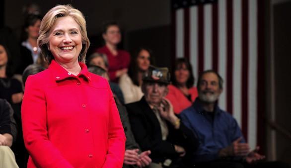 Clinton se impone en Columbia
