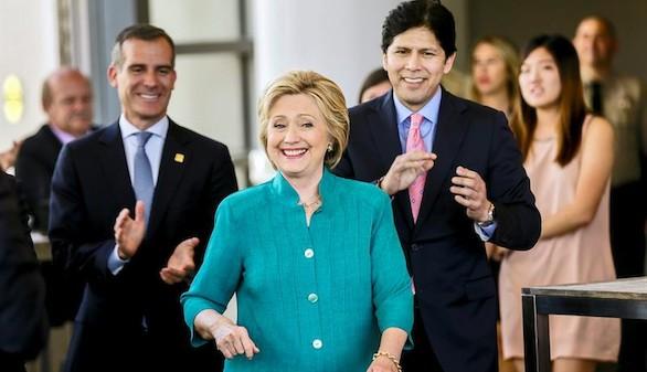 Hillary Clinton se impone en las primarias de Puerto Rico