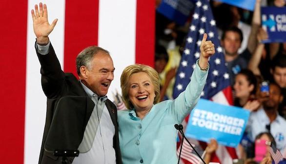 Clinton hace historia: primera mujer candidata a la Presidencia de EEUU