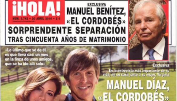 Crónica rosa. El ADN 'habla' por Manuel Díaz y Manuel Benítez se separa