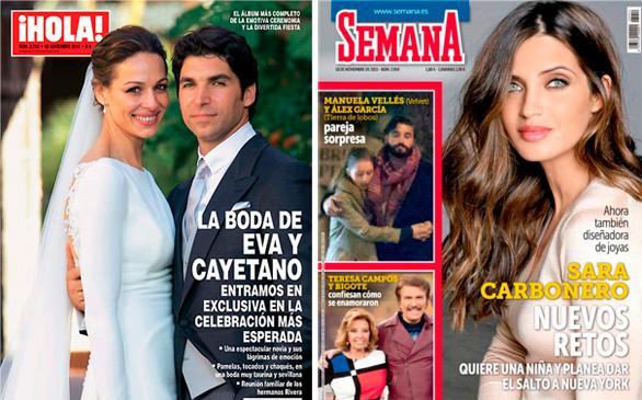 Manuela Vellés y Álex García, pareja sorpresa
