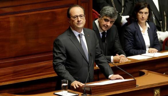 Hollande anuncia una reforma de la Constitución para luchar contra el yihadismo