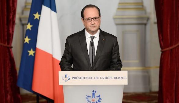 Hollande califica el atentado de 'acto de guerra contra Francia'
