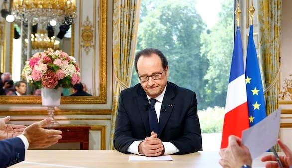 Hollande dice que hay