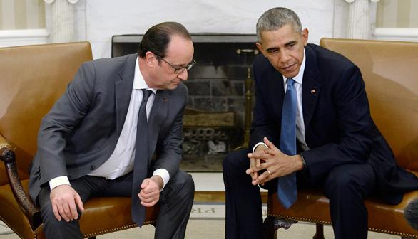 Obama muestra su apoyo a Francia para