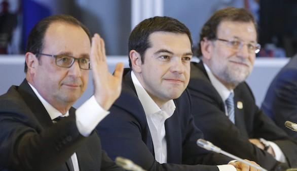 Sigue en el aire el riesgo de que Grecia pueda salir del euro