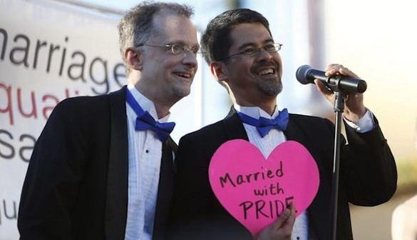 La batalla de los matrimonios homosexuales en EEUU se gana estado a estado