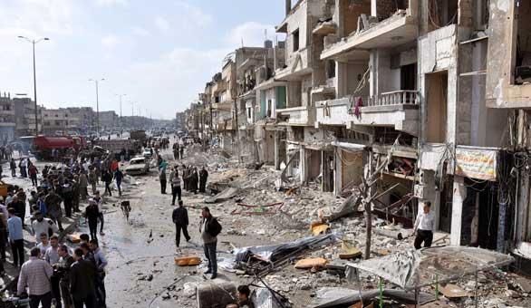 EEUU y Rusia acuerdan un alto el fuego en Siria