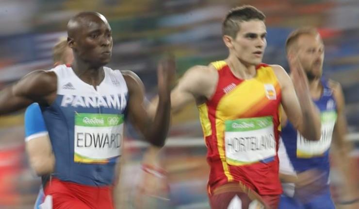 El sueño olímpico de Hortelano se cierra con 20.16