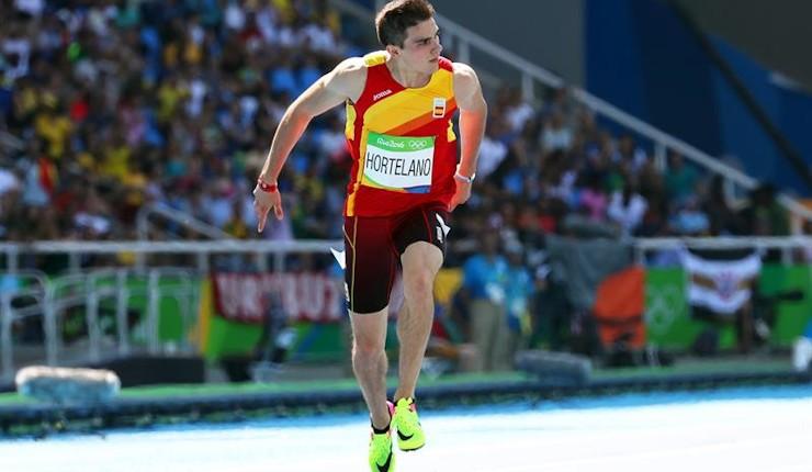 Hortelano, a la semifinal de los 200 con récord de España