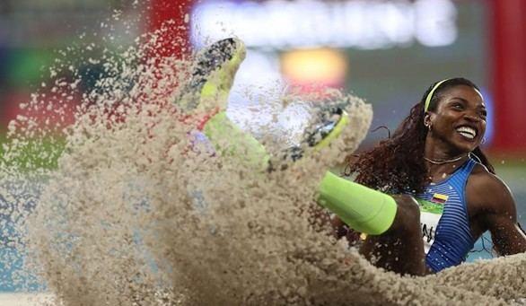 Caterine Ibargüen, reina del triple salto
